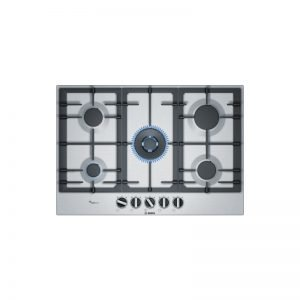 Bosch Pcq7A5B90Z Serie 6 75Cm Gas Hob1 With Wok Burner