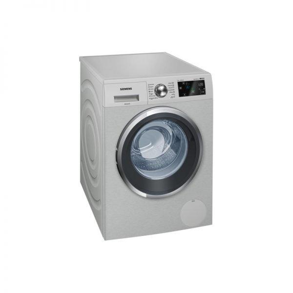 Siemens Wm14T67Xza Iq500 Isensoric Inox Washing Machine I-Dos, 1400Rpm