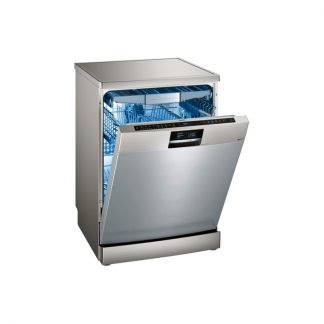 Siemens Sn278I01Tg Iq700 60 Cm Dishwasher Freestanding - Silver Inox