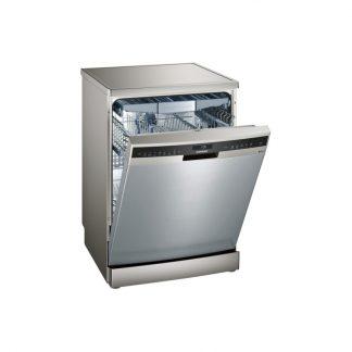 Siemens Sn258I10Tm Iq500 60 Cm Dishwasher Freestanding - Silver Inox